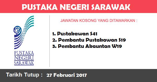 Jawatan Kosong di Pustaka Negeri Sarawak