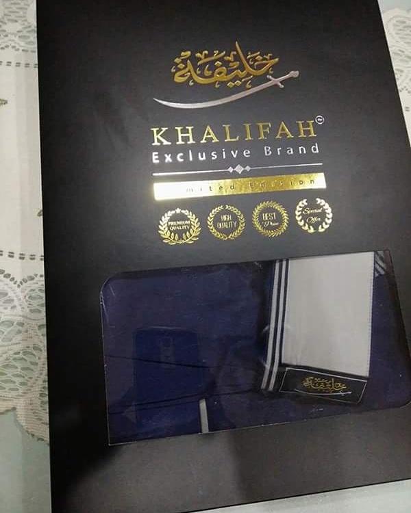 Busana Khalifah Exclusive Brand islam kurta jubah lelaki