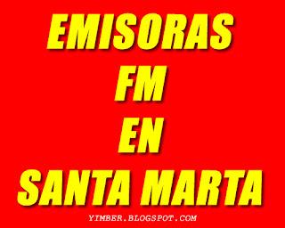 Escucha las Emisoras en FM de Santa Marta Magdalena