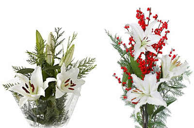 Sun Valley Holiday bouquets