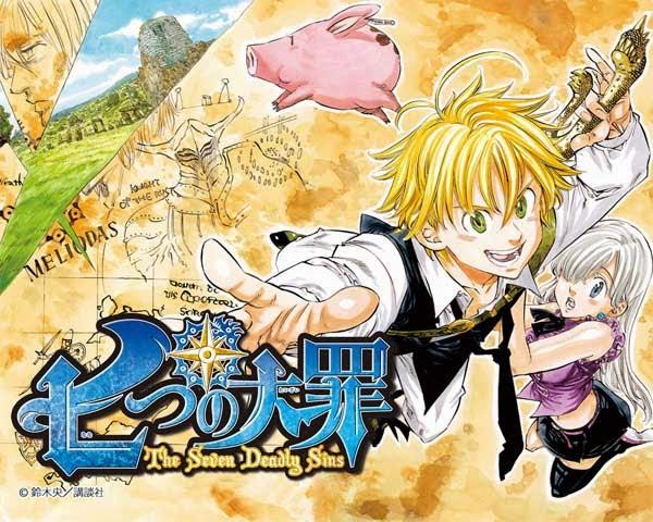 Nanatsu no Taizai Manga Tomos Descargar Mega
