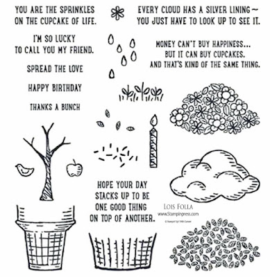 Sprinkles of Life stamp set, Stampin' Up!