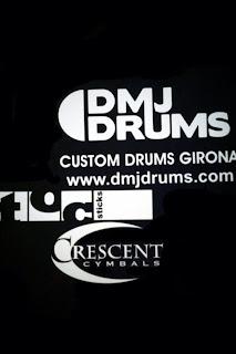 massbateria-logos de dmj drums y crescent cymbals