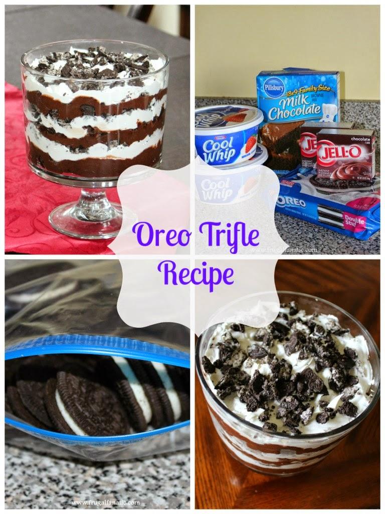 Resepi Ringkas Ramadhan -  Oreo Trifle