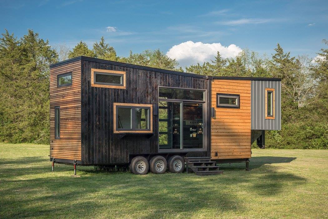 Tiny house town the escher by new frontier tiny homes for Building a little house