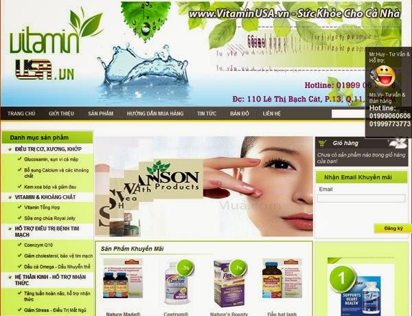 thiết kế web bán hàng dược phẩm