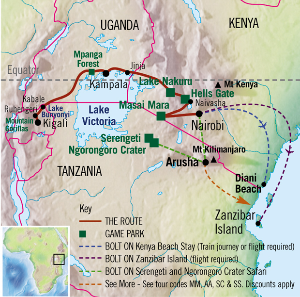 The Kenya and Rwanda Whirlwind | This is Africa (TIA)