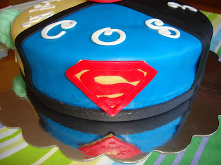 tarta superheroe superman