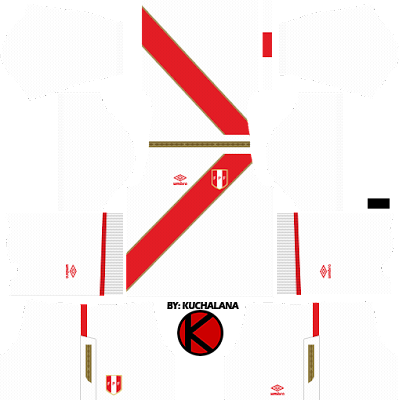 Peru 2018 World Cup Kit - Dream League Soccer Kits