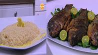 برنامج علي قد الأيد 20-11-2016 طريقة عمل سمك بلطي مقلي - أرز بالزنجبيل والليمون - بسكوت بالسمسم - قرص طرية بالشمر مع نجلاء الشرشابي