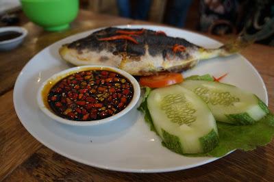 Ikan Jebong bakar asli dari Karimata ala  Canopy Center Pontianak