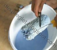 curatarea lavabilei trafalet