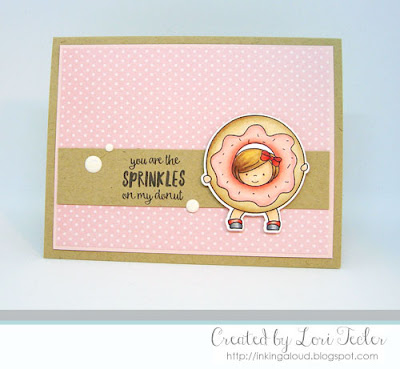 You Are the Sprinkles on my Donut card-designed by Lori Tecler/Inking Aloud-stamps and dies from Neat and Tangled