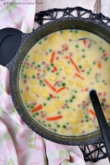 Cremige Gnocchi-Suppe | Rezept | Kochen | Essen | Weight Watchers