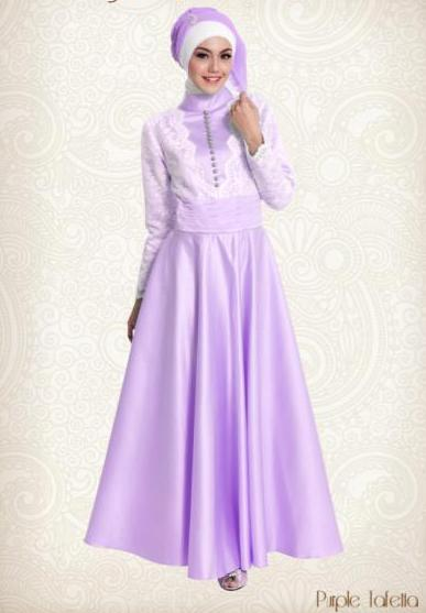 Trend Baju Gamis Muslimah Untuk Pesta Pernikahan Terbaru 2015