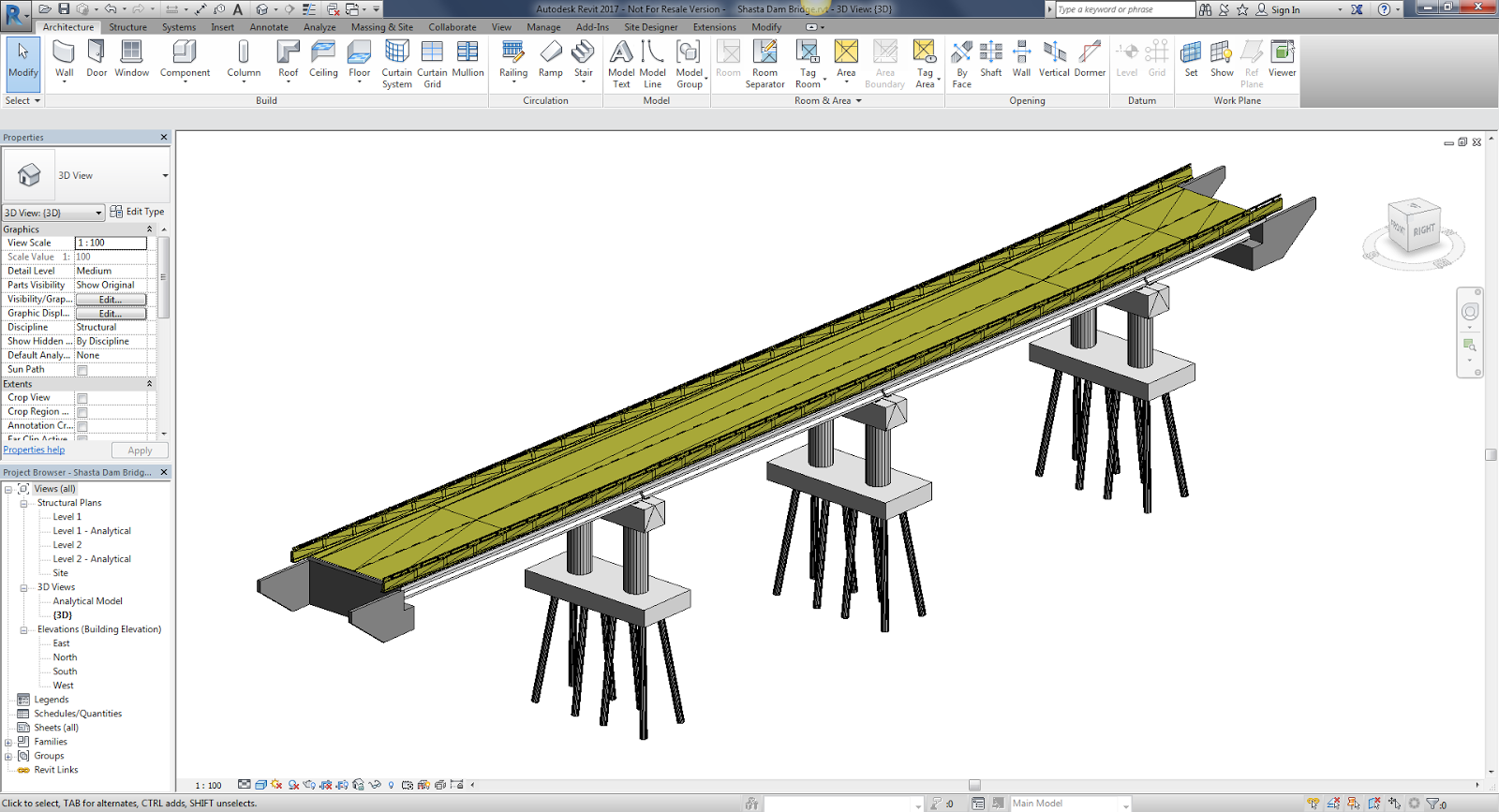Online Building Design Tool Ideate Solutions Export A Bridge Model From Infraworks