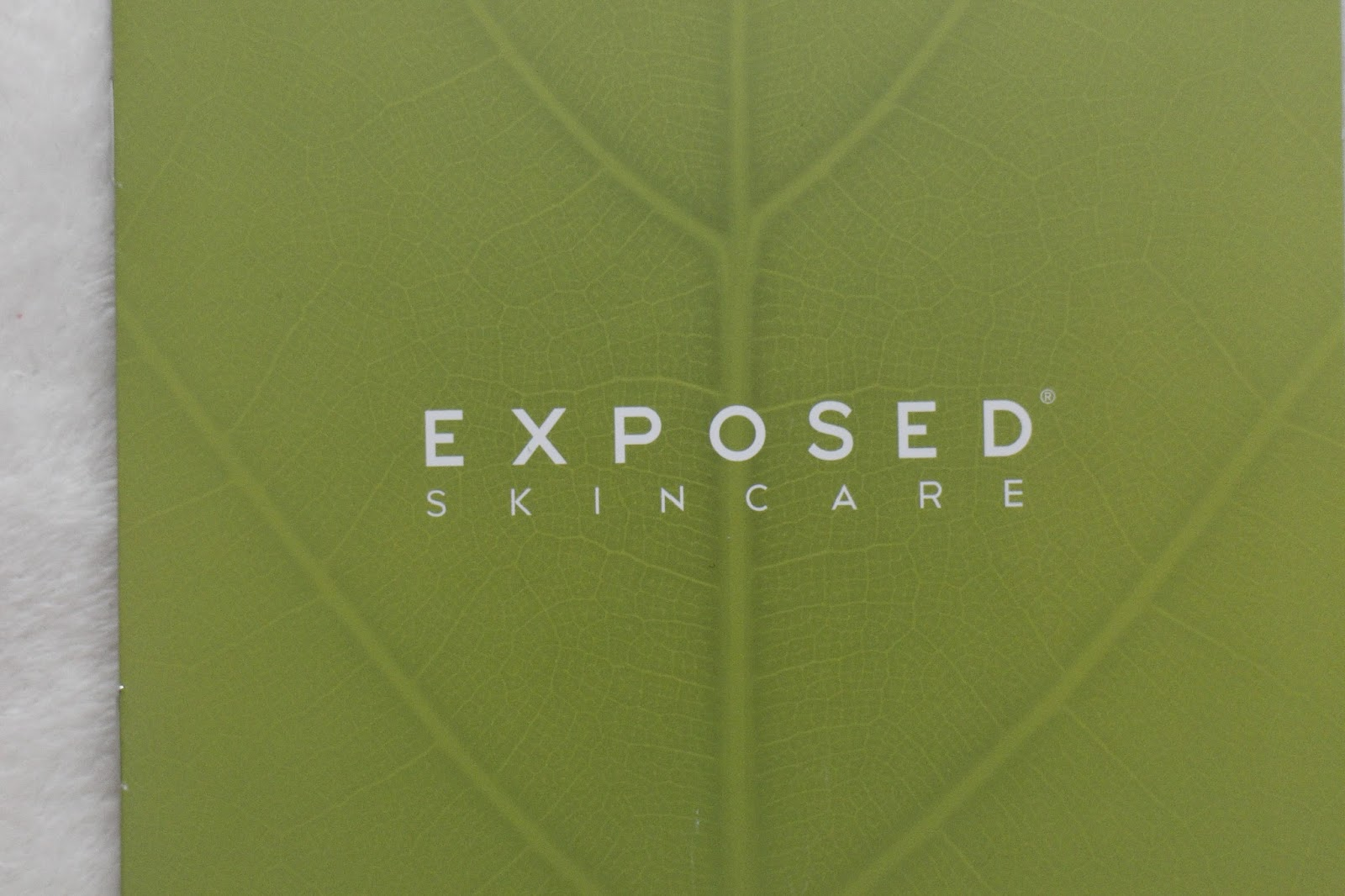 Exposed Skincare Kit Review