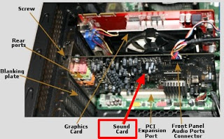 fungsi sound card onboard