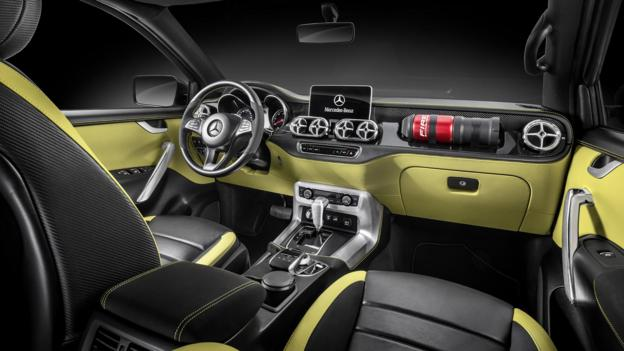 Mercedes-Benz presenta su pick up X-Class