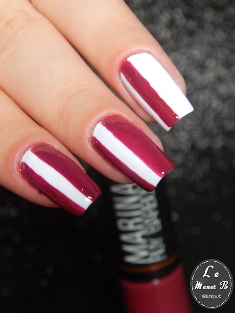 nail art vinho