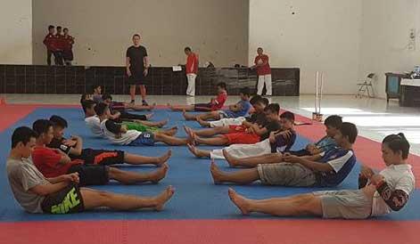 taekwondowin kota cirebon dilatih mantan pelatih nasional