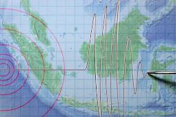 Gempa 2,4 Magnitudo Mengguncang Pesawaran Lampung Pada Malam Hari