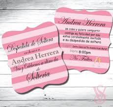 Carrying A Concept Of Pink And Black Hues These Bridal Shower Invitation Ideas Truly Brought Victoria Secret Name Will Notify Everyone Upon The Precious