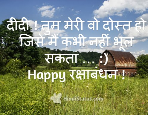 Happy Raksha Bandhan - HindiStatus