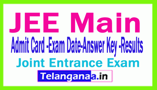 JEE Main 2019 Results Download