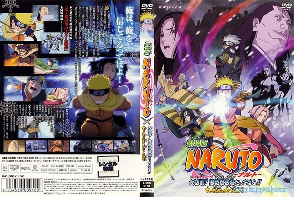 Hình ảnh Naruto Cuộc Chiến ở Tuyết Quốc