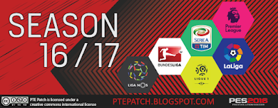 [PES16] PTE Patch 6.0 Final Version - RELEASED 13/07/2016