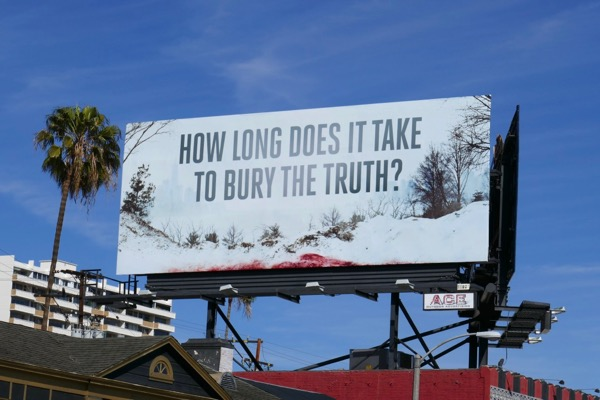How long does it take to bury the truth Seven Seconds billboard
