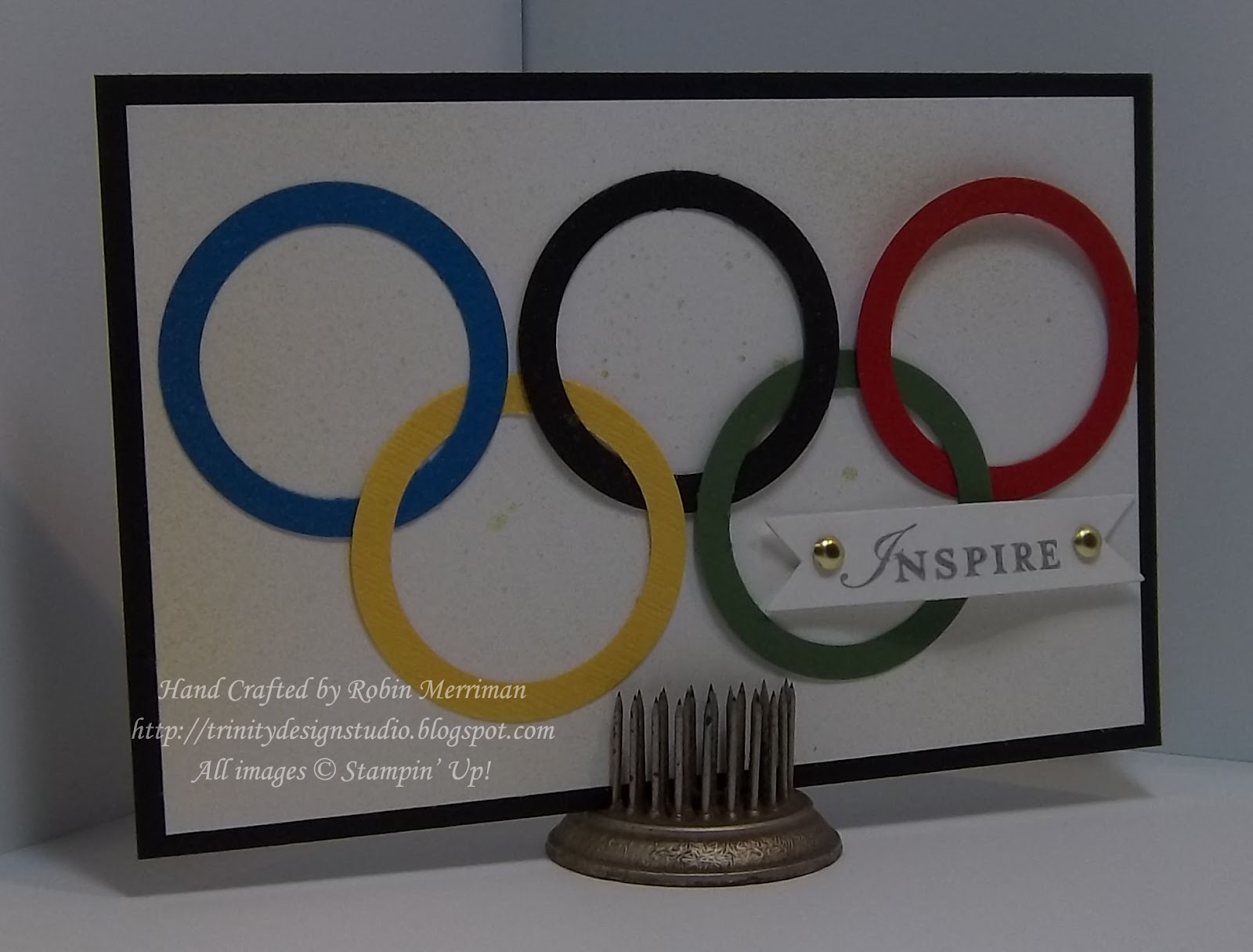 Olympic Inspiration: Trinity Designs: July 2012