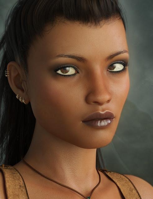 LY Zara HD for Genesis 8 Female