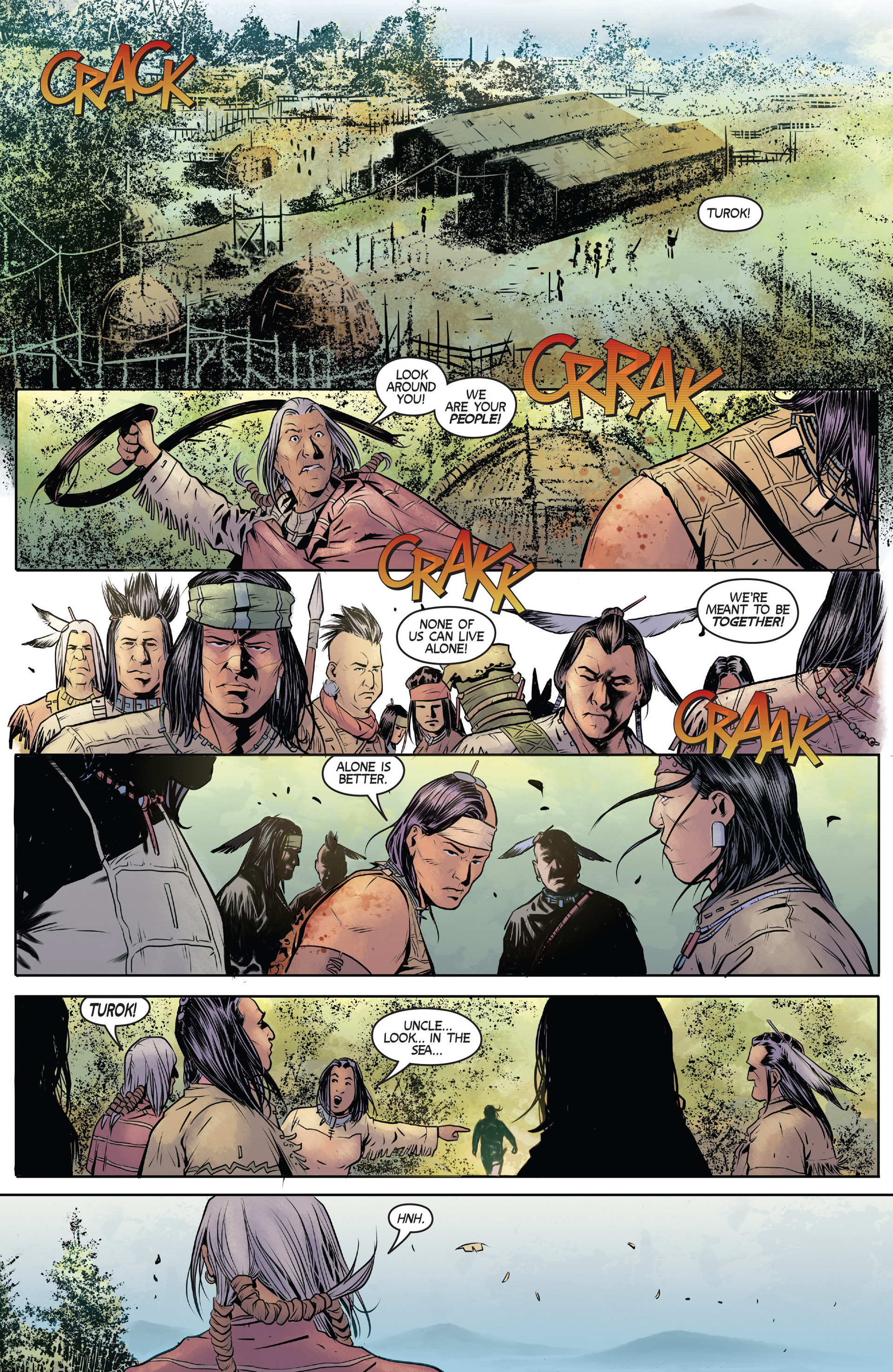 Read online Turok: Dinosaur Hunter (2014) comic -  Issue #1 - 12