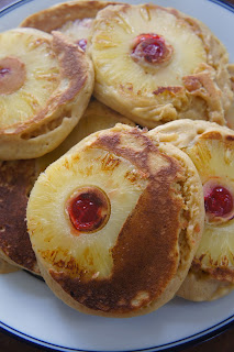 Upside Down Pineapple Pancakes: Savory Sweet and Satisfying
