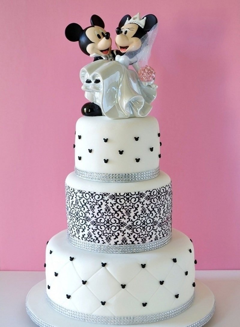 Top 21 Disney Wedding Cakes   Wedding Celebration