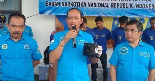BNN Gagalkan Peredaran 25 Kg Sabu dari Malaysia