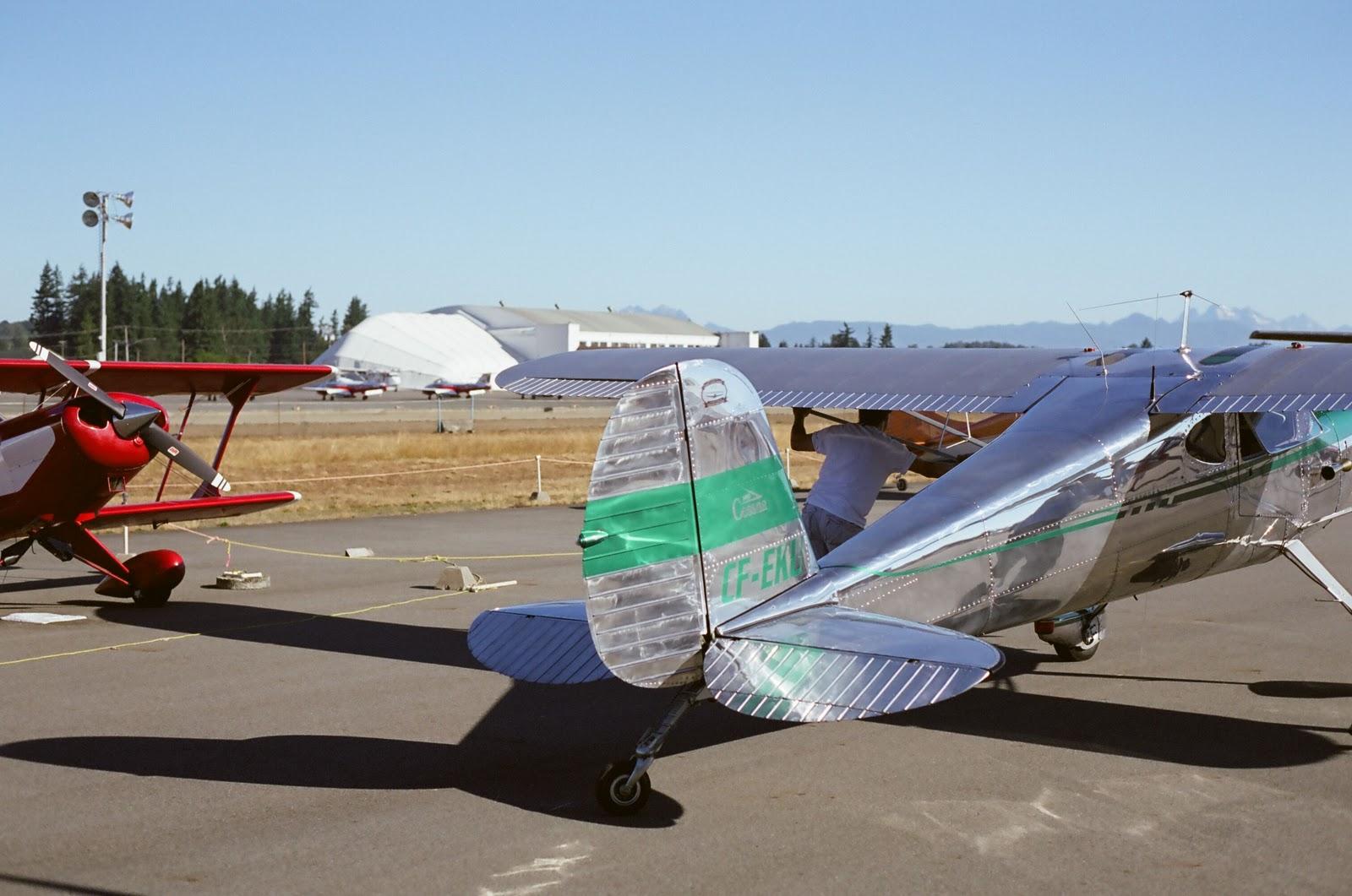 WORDS & WINGS: 1947 Cessna 140, c/n 14027, CF-EKU