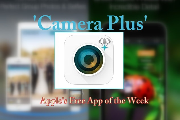 Camera Plus is fantastic for adding the finishing touches to your pictures.