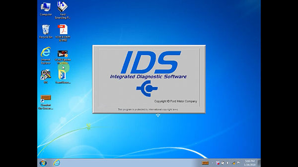 Inteligentny Ford IDS 108 download for VCM 2 SP177-C1 | OBD2 vehicle diagnostics BK13