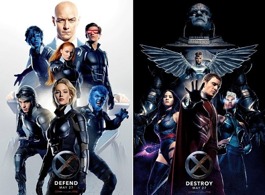 X Men Apocalypse Team Movie Poster Image Picture Wallpaper Screensaver