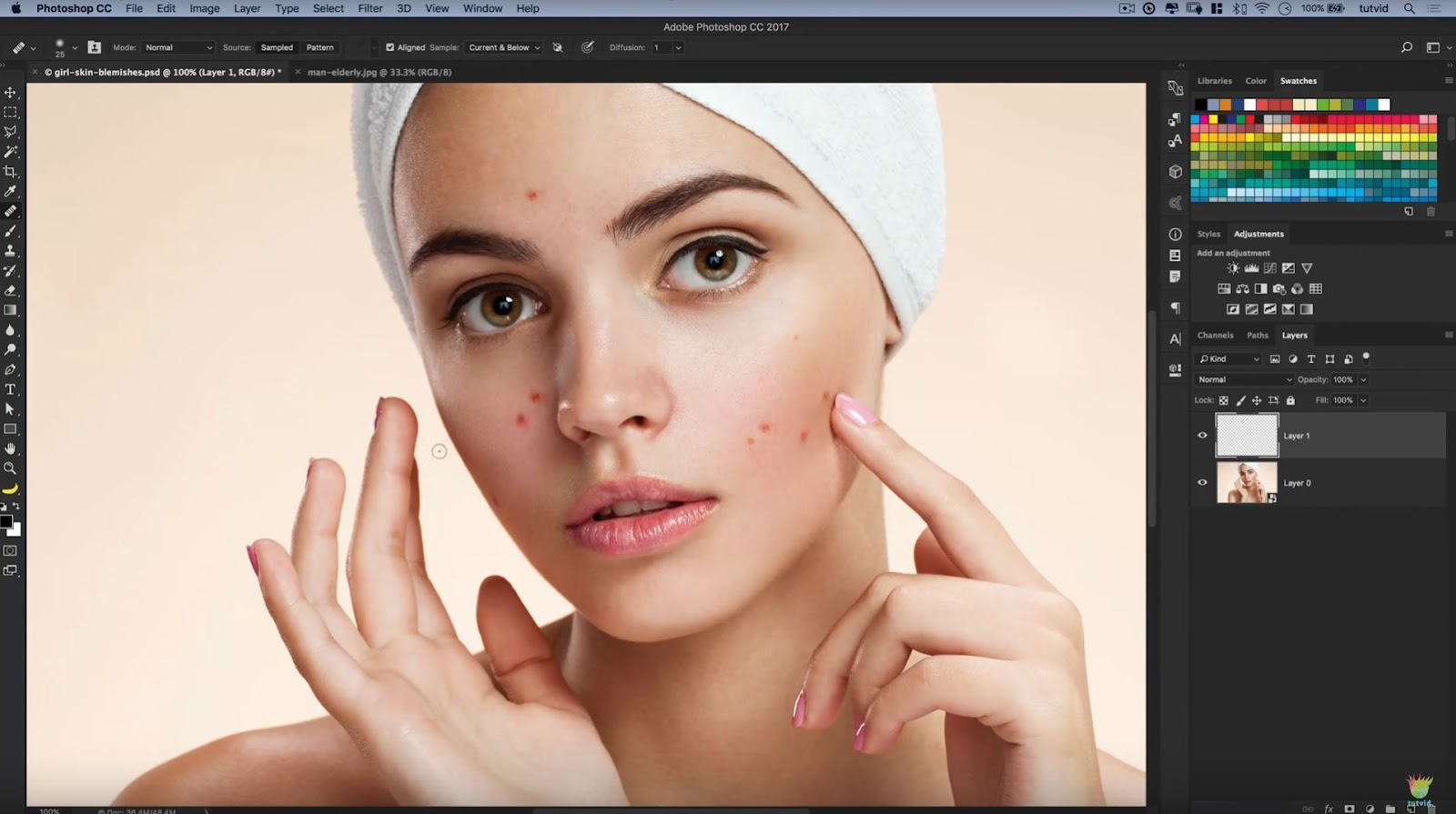 5 Best Ways to Clean Skin Blemishes and Heal Skin Photoshop Tutorial