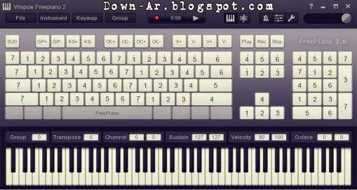 تحميل بيانو على الكيبورد مجانا