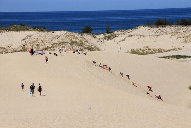 Slowinski Sand Dunes,Poland