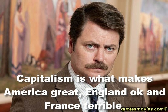Top Quotes of Ron Swanson