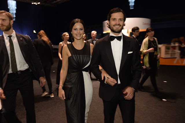 Sofia Hellqvist attended the Swedish Sports Awards Gala