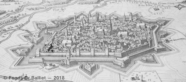 Cavalier d'artillerie « Siegels cavalier » (Merian, 1643)