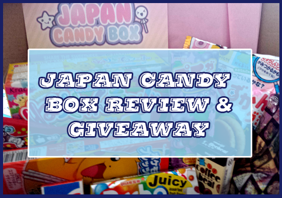Japan Candy Box Review and Giveaway