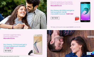 Promo Menarik Samsung India dihari Valentine